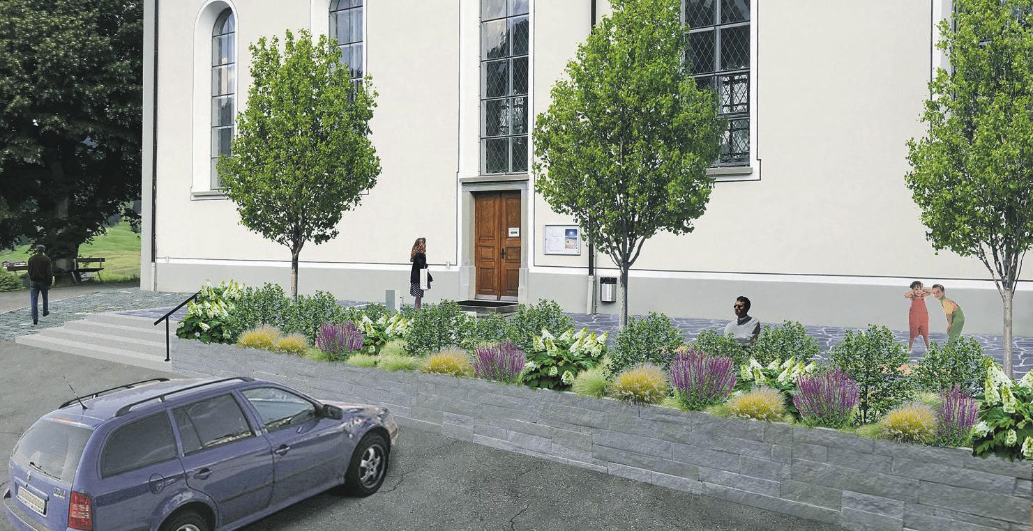 Oberiberger Kirchenplatz soll einladender gestaltet werden