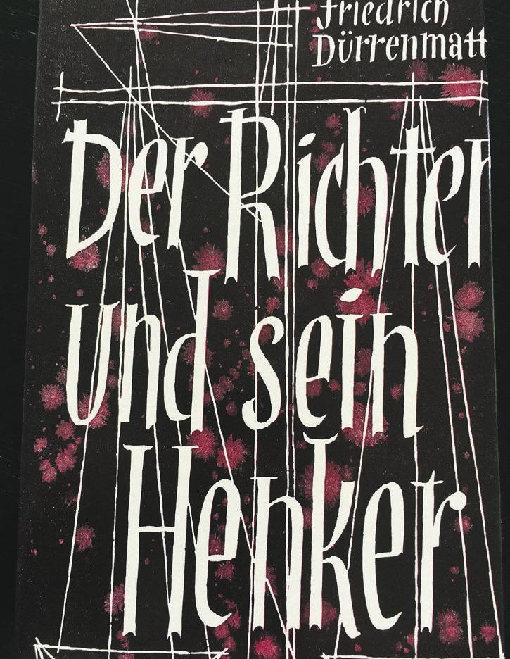 Wie der reformierte Pfarrerssohn Friedrich Dürrenmatt  zum katholischen Benziger Verlag kam