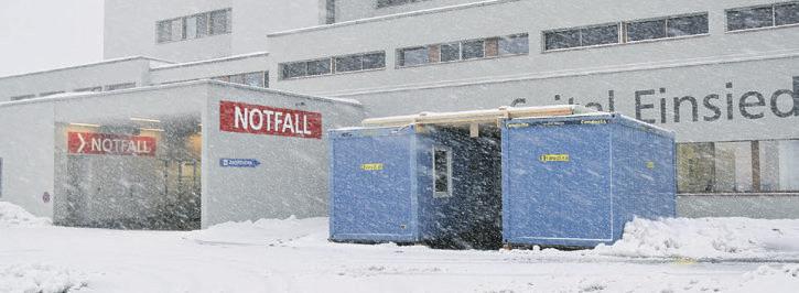 Der Kanton Schwyz baut  Impfkapazitäten aus