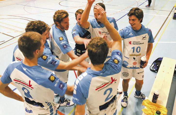 Volleyballer holen  Heimsieg gegen Näfels