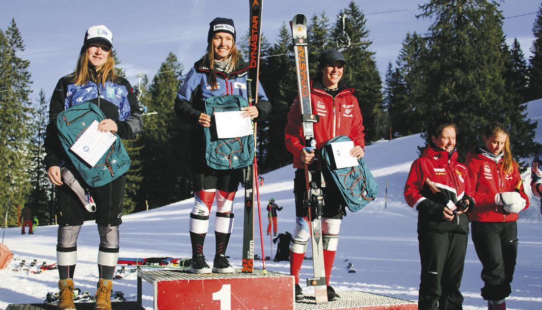 Livia Rossi gewinnt das  Uni-FIS-Rennen im Hoch-Ybrig