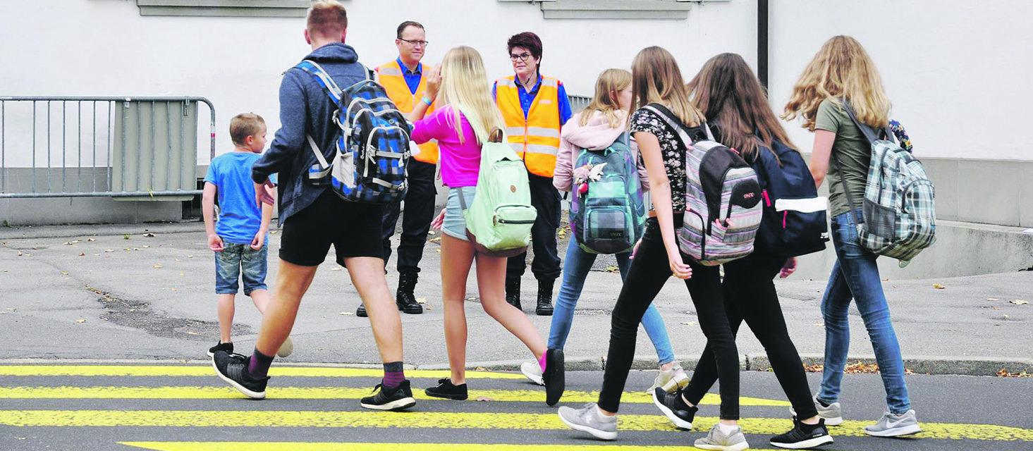 Kreiselsanierung erfordert höhere  Sicherheitsmassnahmen für Schüler