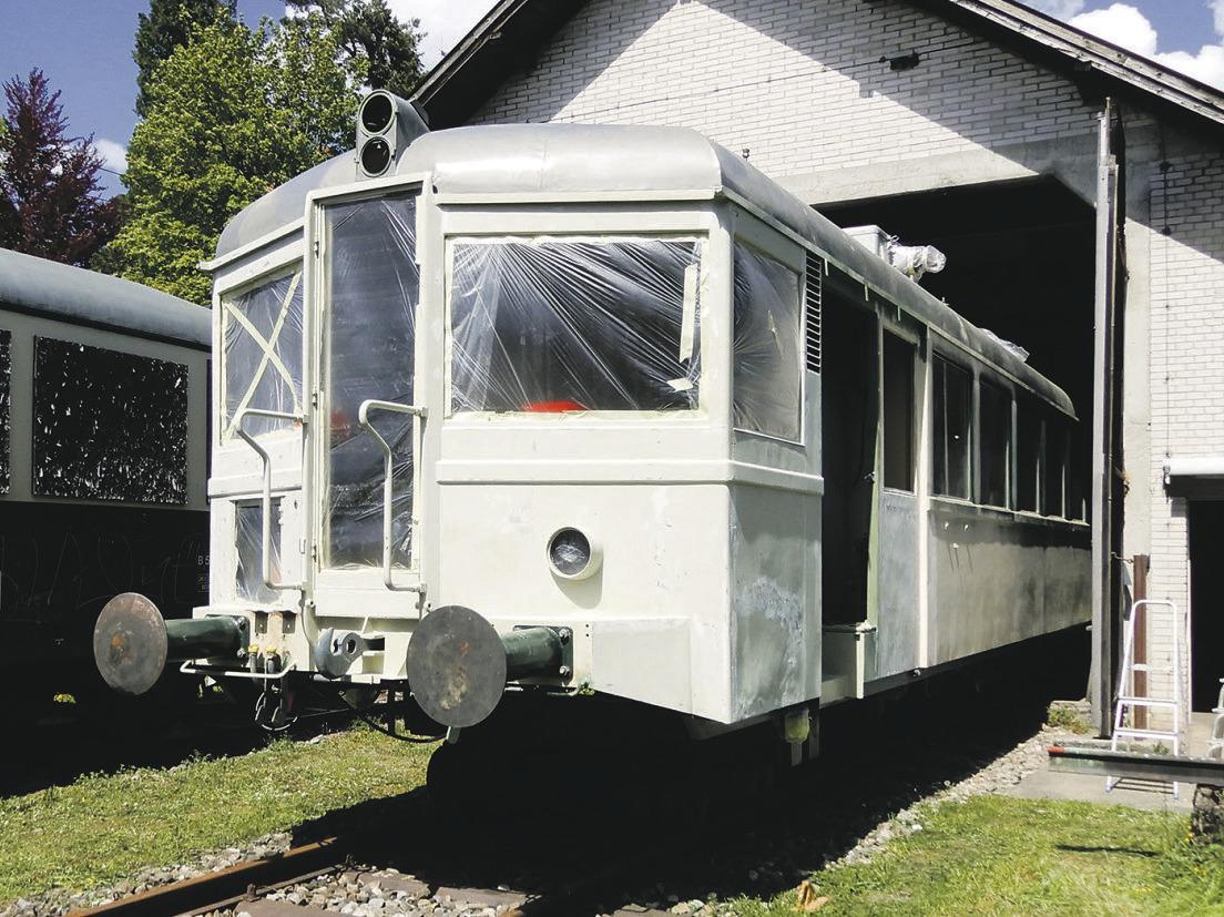 Das «Klostertram» soll ab dem Jahr 2022 wieder fahren