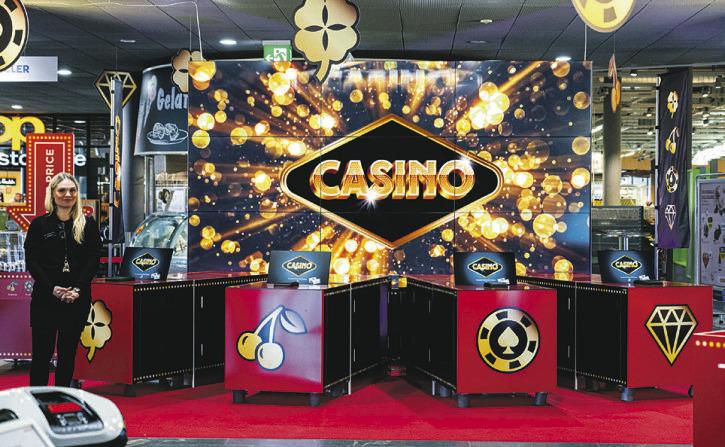 Willkommen im «Grand  Casino Seewen Markt»