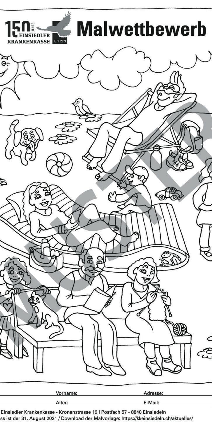 Zum 150-Jahr-Jubiläum gibts einen Kinder-Malwettbewerb