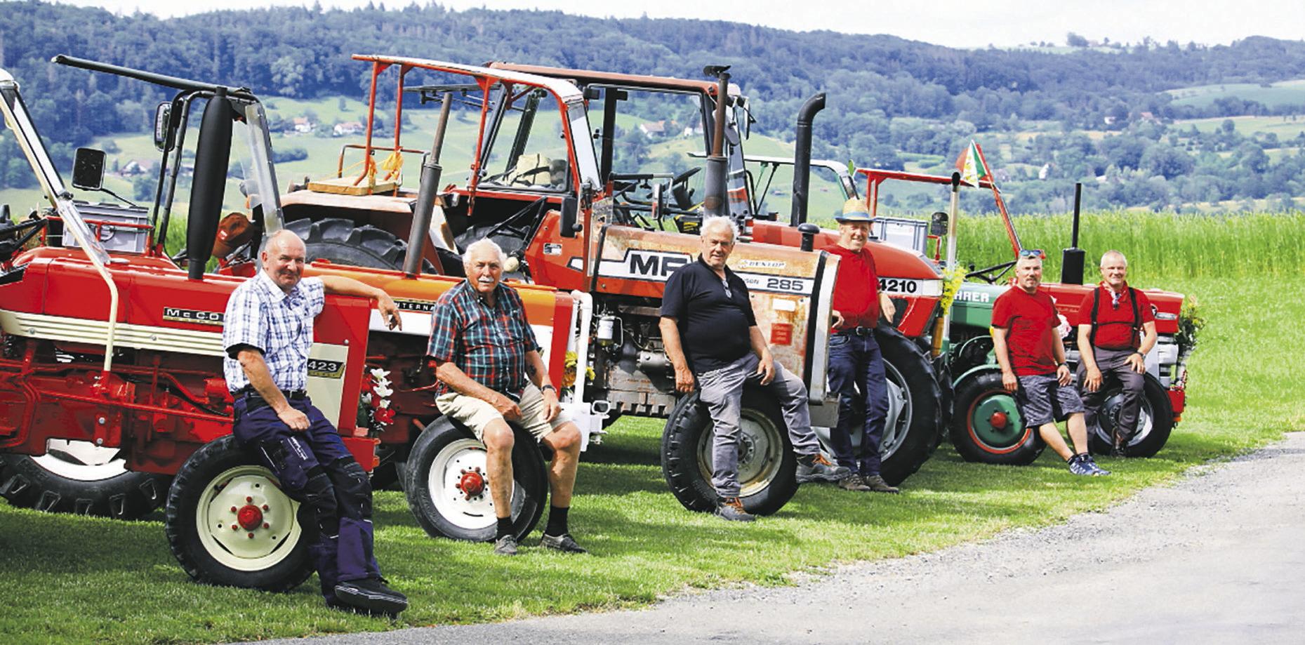 Mit dem Traktor durch die Schweiz