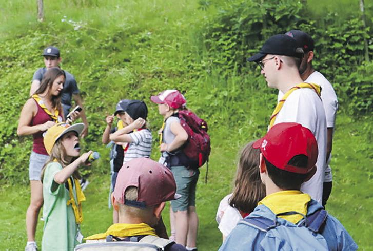 Viel Action und Spass auf der Wölfli-Alp