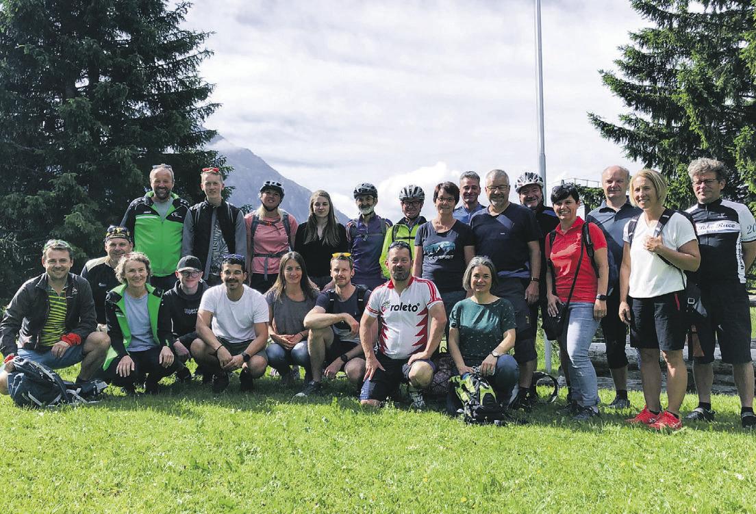 KTV am Bike- und Wanderweekend  in Lenzerheide