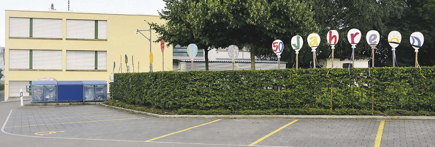 Heilpädagogisches Zentrum Ausserschwyz  feiert seinen 50. Geburtstag