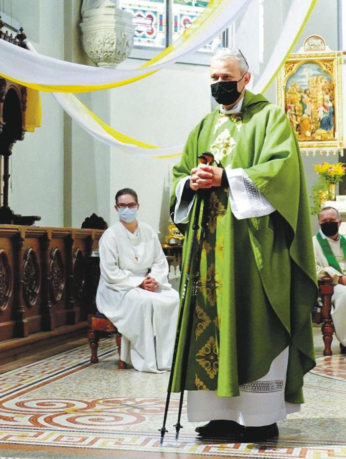 Verabschiedung von  Pfarrer Erich Camenzind