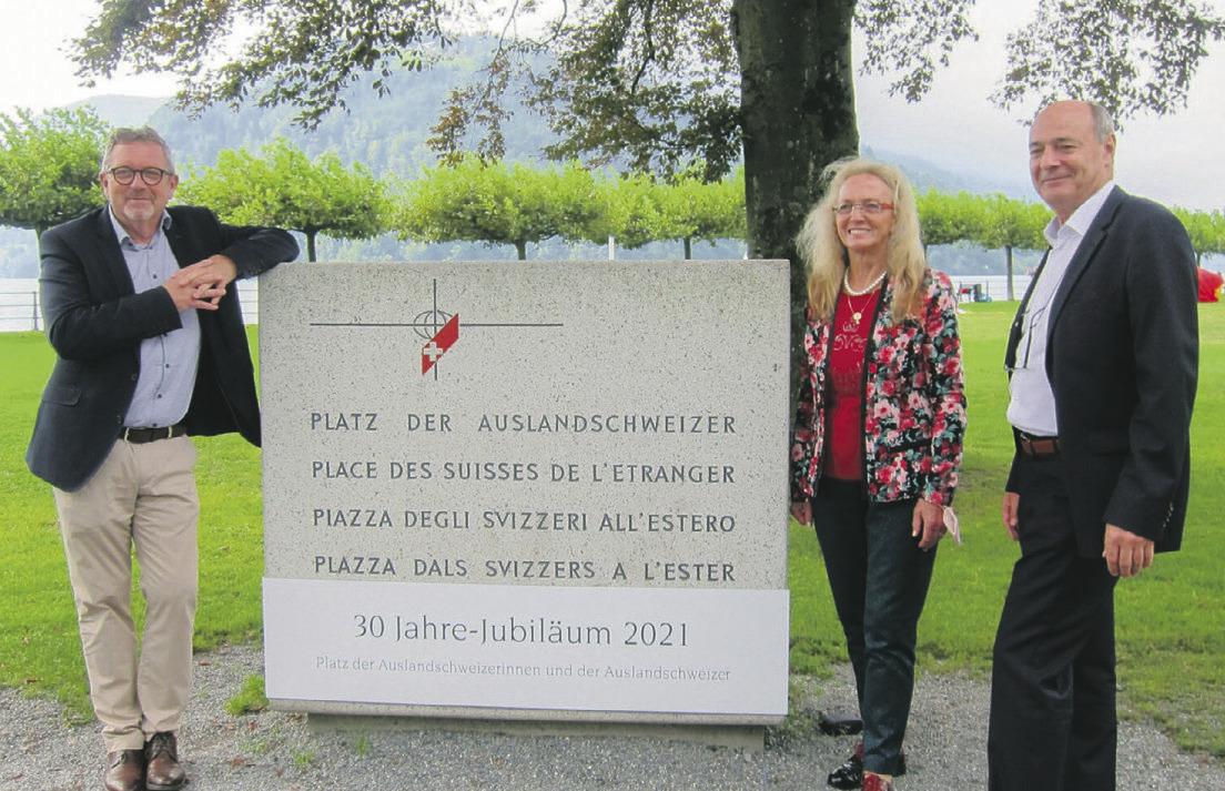 Stiftung Auslandschweizerplatz  feiert ihr 30-Jahr-Jubiläum