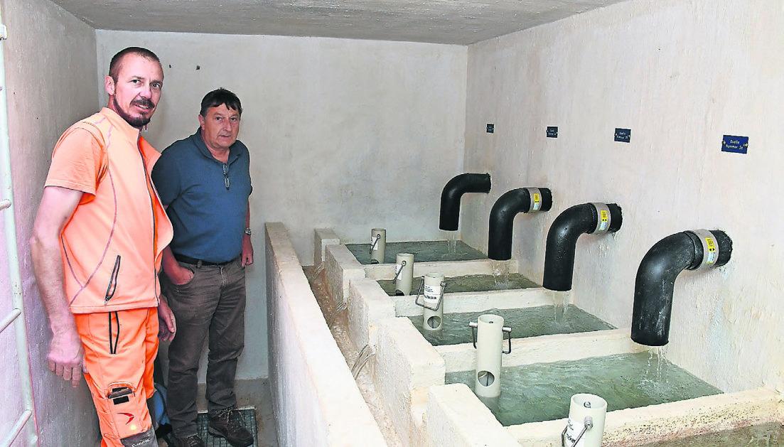 Grossprojekt zur Sicherstellung  von Wasser auf drei Alpen