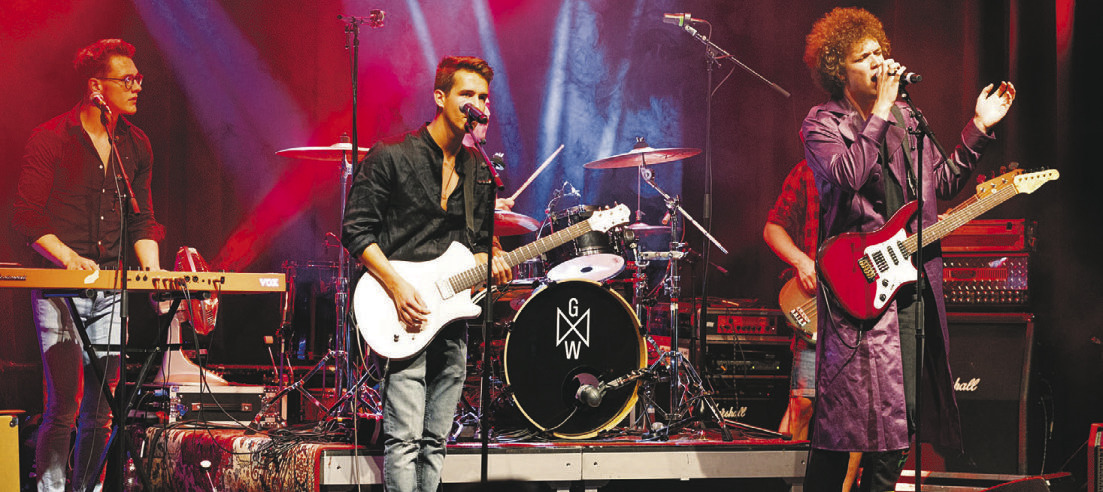 Konzert mit neuen und ehemaligen BandXsz-Teilnehmern