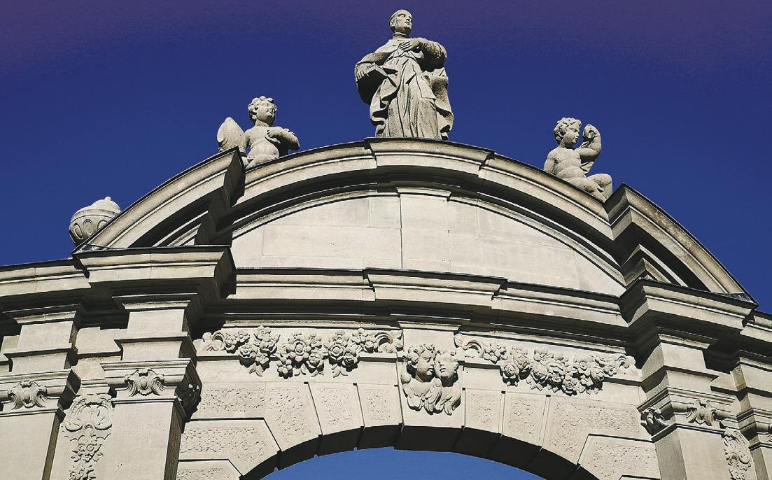 Klostermitbegründer restauriert